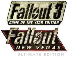 Fallout 3 GOTY + Fallout New Vegas Ultimate PC [Steam Key] No Disc, no VPN