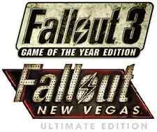 Fallout 3 GOTY + Fallout New Vegas Ultimate PC [Steam Key] No Disc, no VPN