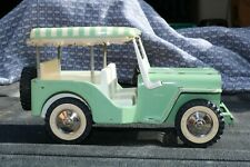 Tonka No 2140 Outdoor Living Surrey Jeep 1963 - pressed steel - Made in USA