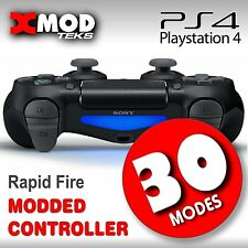PS4 MODDED CONTROLLER, RAPID FIRE MOD PRO CHIP, COD BO3 AW MWII,  XMOD  30 MODES
