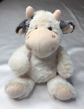 Gitzy Sweet, Cow Plush SOFT Stuffed Animal Toy in Pink Gray White SANITIZED, ECU