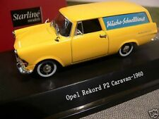 1/43 Starline Models Opel Rekord P2 Caravan-1960 Wäscheservice 53040