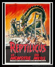 REPTILICUS 4x6 ft Vintage French Grande Movie Poster Original 1961