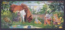 Australia 1563a Mnh 1996 Pets Souvenir Sheet of 6 Very Fine