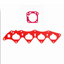 Thermal Intake Manifold B16 + 64mm Throttle Body Gasket Zerg Civic HONDA B18C5