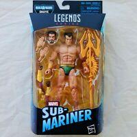 Prince Namor The SUB MARINER Marvel Legends Series 6 in Action Figure BAF OKOYE