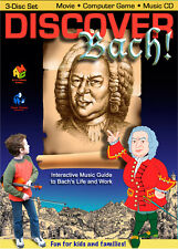 Discover Bach! Computer Video Game and Movie for Kids
