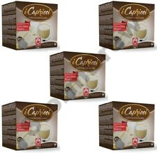 5 Packs (50 pods): Nespresso Compatible Hot WHITE Chocolate Pods Capsules
