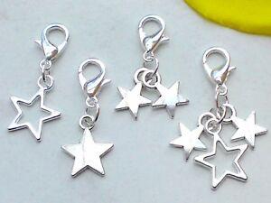 Charms Anhänger *STERN Charm Star Sternchen Sternen für Bettelarmband Kette