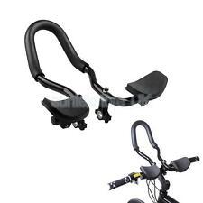 Aleación de Triatlón Aero Manillares Manillar de Bicicleta de descanso Carretera Bicicleta De Montaña