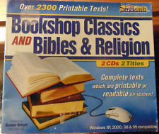 Bookshop Classics / Bibles & Religion - 2 CDs, 2 Titles (2003 CD-Rom)