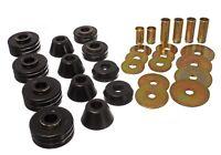 Energy Suspension Body Mount Bushings Polyurethane Black Chevy GMC C10/C15/C1500