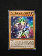 Yu-Gi-Oh! Gem-Knight Crystal HA06-EN001 1st Edition Mint Trading Card