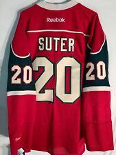 Reebok Premier NHL Jersey Minnesota Wild Ryan Suter Red sz 2X