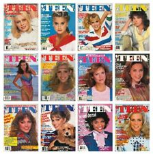 'TEEN 1982 magazine collection - SCANNED - all 12 issues - COMPLETE YEAR