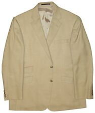 $1095 NEW BURBERRY LONDON SAKS FIFTH AVENUE CAMEL HAIR SPORTCOAT JACKET 46R 46 R