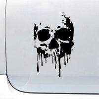 7'' Bloody Skull Car Sticker Bleeding Window Bumper Windowshield DIY Vinyl Decal