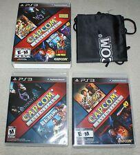 Capcom Essentials American PS3 game - Resident Evil 6 Super Street Fighter IV