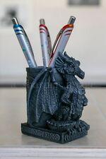 Mythical Celtic Winged Dragon Pen Guardian Gargoyle Statue 'Stone' Finish Superb
