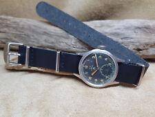 Molto raro anni'40 W.W.W. OMEGA SPORCA DOZZINA CAL:30T2 originale quadrante nero watch Y9811