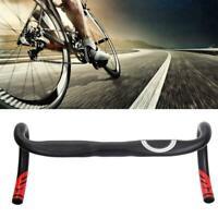 MTB Racing Bicycle Bent Handlebar Drop Bar Aluminum Alloy Road Bike Handlebar