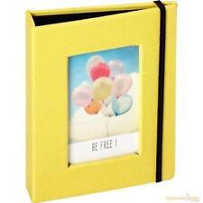 Universal Mini Instax Photo Album (20) on Clip Strip Yellow