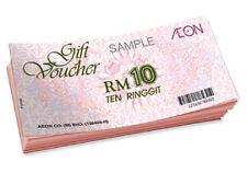 Gift vouchers (Aeon)