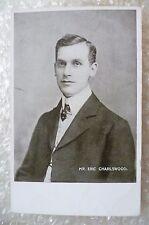 Postcard- MR. ERIC CHARLSWOOD