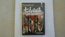 Seven Samurai 20xx Ps2 PlayStation - New/Sealed - Ships Worldwide