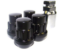 "GEN2 Black Locking Wheel Nuts 1/2"" Bolts Tapered For Dodge Nitro 07-12"