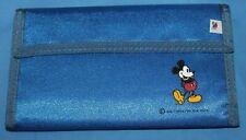 Nice Older Disney Mickey Mouse Blue Large Wallet