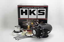 UNIVERSAL HKS SSQV4 BOV SUPER SEQUENTIAL IV Turbo Blow Off Valve OEM 4-New Black