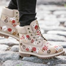 WOMEN'S 6-INCH PREMIUM EMBROIDERED WATERPROOF BOOTS STYLE A1KIR104 SZ:7