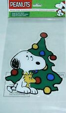 CHRISTMAS Window Clings  SNOOPY W/ WOODSTOCK  Image on both Sides