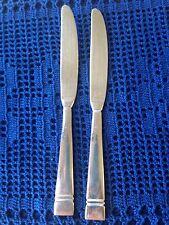 Pfaltzgraff PASSAGE Dinner Knives Knife 18/8 Stainless Flatware  ~ Qty 2