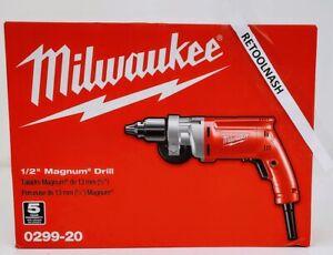 "Milwaukee 0299-20 1/2"" Magnum Electric Drill"