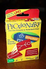 Pictionary Card Game Use Our Pictures to Build Each Clue No Drawing Required