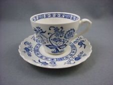 Meakin Blue Nordic Cup & Saucer