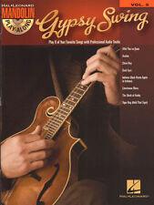 Mandoline Mandolin Play-Along 05 Gypsy Swing Songbook Spartito TAB CON CD