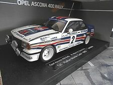 OPEL Ascona 400 Gr.4 Rallye Monte Carlo 1982 #2 Röhrl Winner UMBAU SST bas 1:18