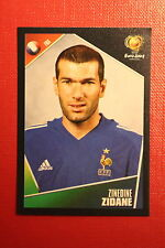 Panini EURO 2004 N. 107 FRANCE ZIDANE  NEW With BLACK BACK TOPMINT!!