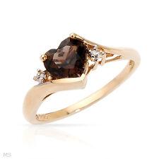 Ring With 1.55ctw Precious Stones - Genuine Diamonds and Topaz !!!