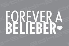 Forever a Belieber Vinyl Decal Sticker