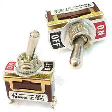 2 MARCHE-ARRÊT SPST Interrupteur à bascule voiture Loquet 15A 250V 20A 125V ac