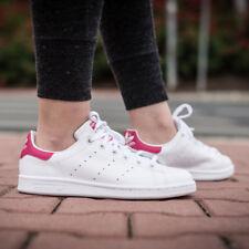NWOB  adidas Big Kids' Stan Smith J  Shoes Wht B32703  Sz us 7Y ( Wms 8 )