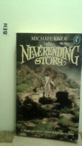 The Neverending Story, by Michael Ende, a magical story, englisch, ,-