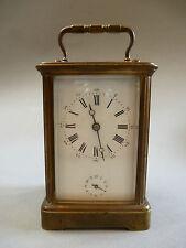 Französicher Reisewecker Tischuhr Wecker Uhr Reiseuhr Offiziersuhr um 1870