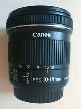 Canon EF-S 10-18 mm F/4.5-5.6 IS STM Lens