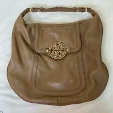 Tory Burch Dark Taupe AMANDA Hobo Bag $498