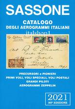 SASSONE UN CATALOGO DEGLI AEROGRAMMI ITALIANI 2021